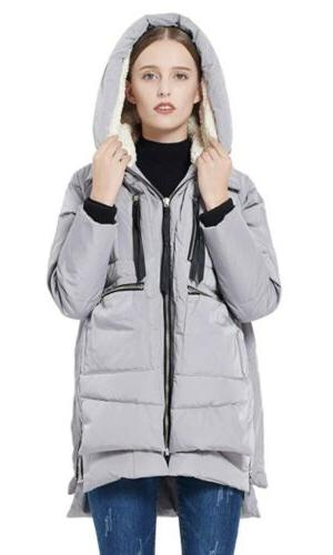 Authentic Orolay Padded Parka 2XS gray