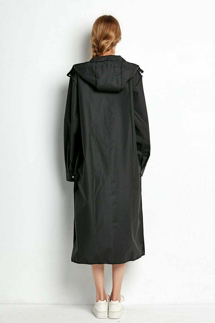Beautiful Womens Raincoat Outdoor Jacket Long Poncho