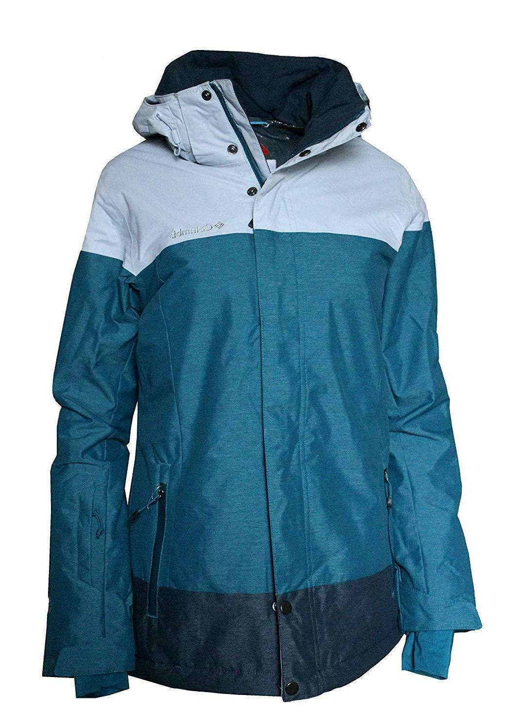Columbia Omni Heat Hooded Ski Jacket