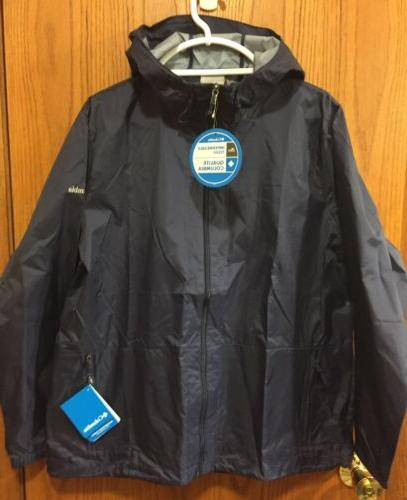 columbia womens plus jacket packable hooded size