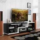 Furniture of America Curie Modern Two-Tone 70-inch TV Stand