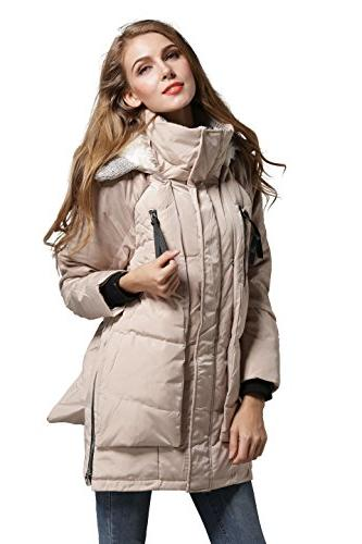 Aini Savoie Women's Down Jacket Thickened -Ivory A1