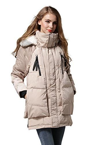 Aini Jacket Thickened Down -Ivory A1