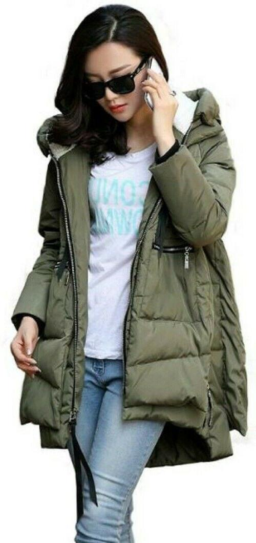down jacket thickened