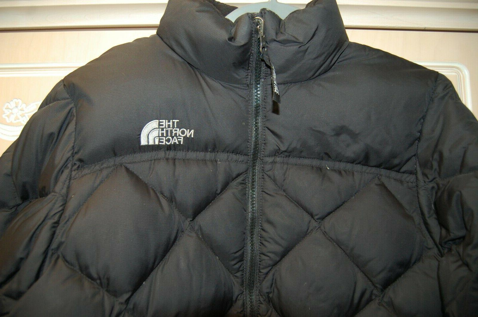EUC Black MD Goose Down Puffer