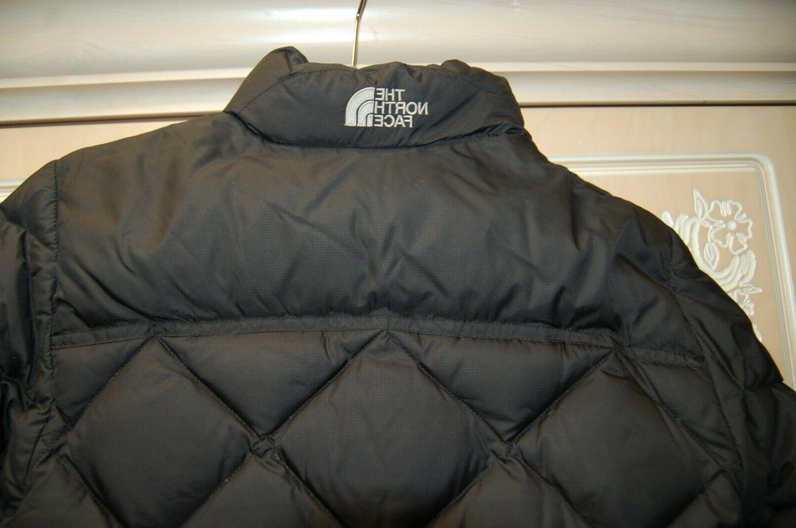 EUC The North Face BLACK MD Puffer Jacket SKI