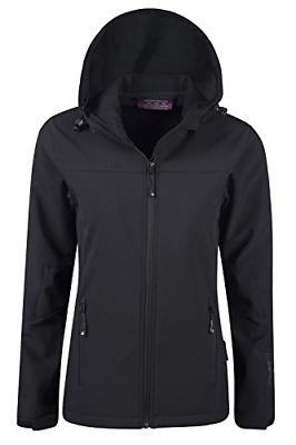 Mountain Warehouse Exodus Womens Softshell Jacket Cycling Shell