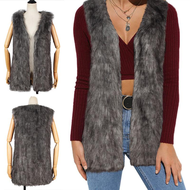 Fashion Womens Jacket Body Vest Gilet