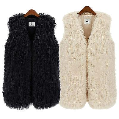 Fashion Faux Fur Jacket Body Vest Gilet