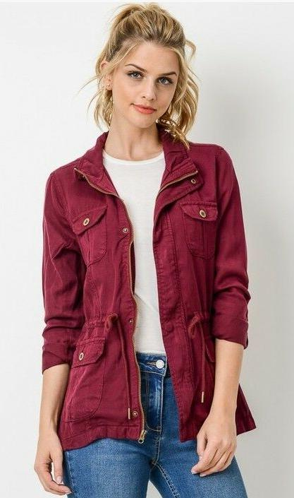 Fashion Womens Anorak Jacket S-3XL