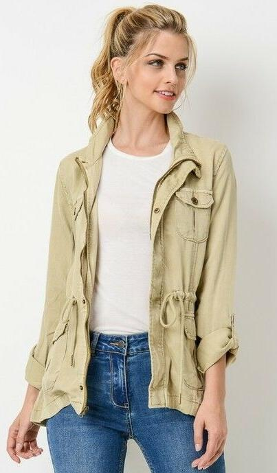 Fashion Womens Anorak Jacket