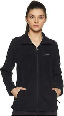 Columbia Fast Trek II Ladies black  fleece jacket