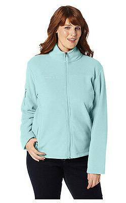 COLUMBIA Fast Trek II Full-Zip Fleece Jacket Women PLUS 1X S
