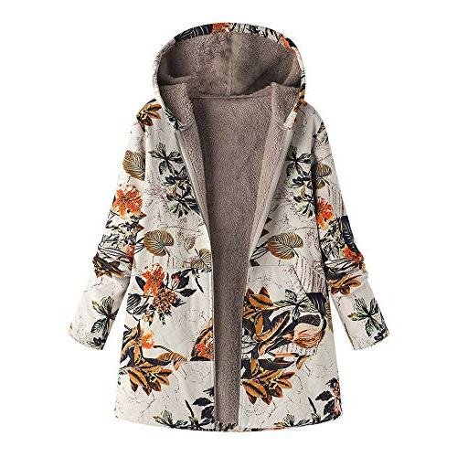 gillberry womens casual hooded jacket coat long