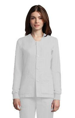 Grey's Anatomy Women's 4435 Scrub Jacket - White