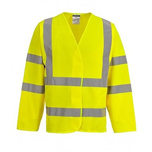 hi vis two band and brace jacket