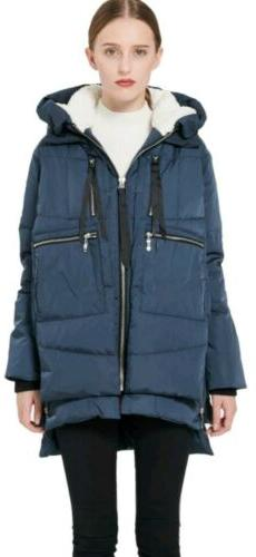Orolay Hooded Down Winter Coat Women Ladies Casual