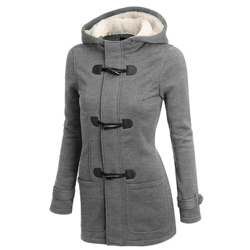 Hooded Winter Size <font><b>Women</b></font> Thick Girl Snow Coat Cotton Fashion Long Street Female Ladies <font><b>S</b></font>-85