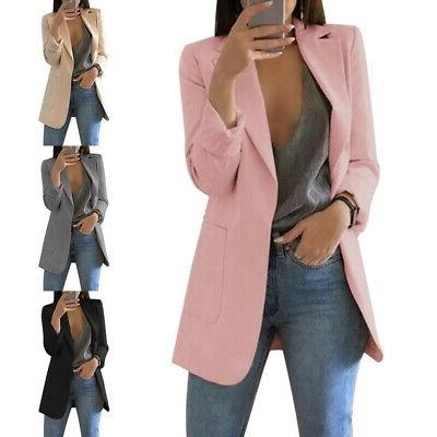 us fashion women suit coat business blazer