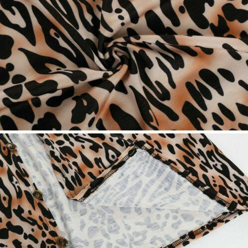 Hot Leopard Print Tops