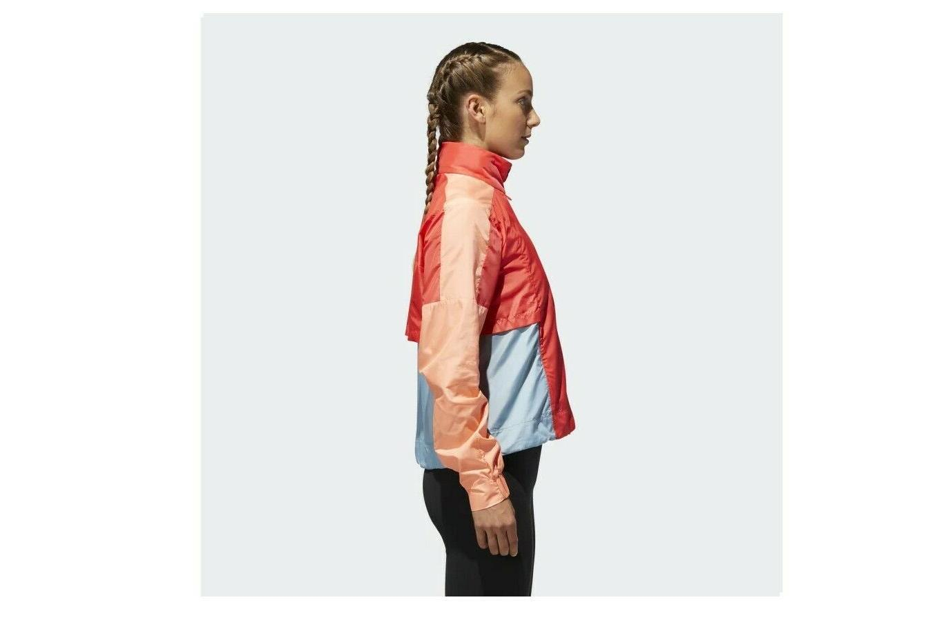 Adidas ID Jacket Coral/Grey XS with