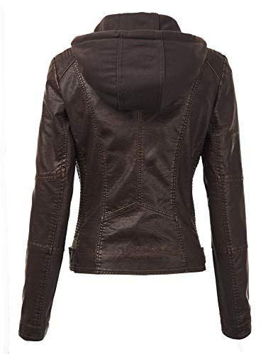 Lock LL Quilted Motorcycle Jacket Hoodie XS