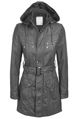 ll wjc741 hooded faux leather