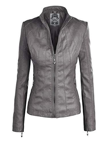 ll wjc877 panelled faux leather