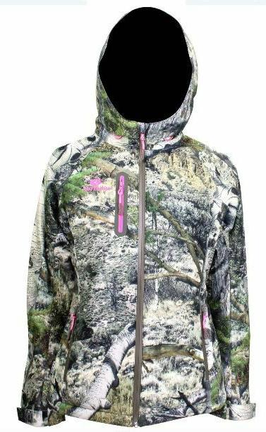 m xl womens waterproof scent control mountain