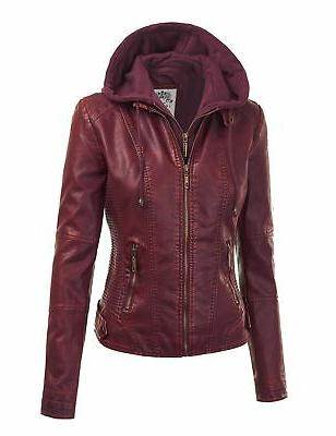 Made Johnny WJC1044 Womens Quilted