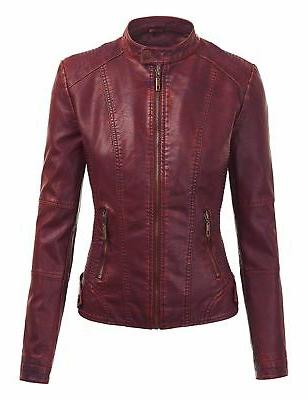 Made By WJC1044 Faux Quilted Motorcycle