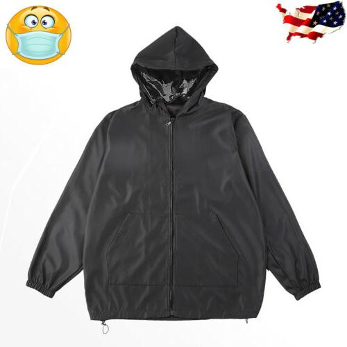 Men Waterproof Outdoor Coat Protective