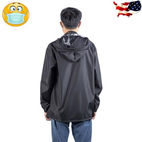 Men Women Outdoor Coat Protective Mask Jacket