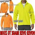 MENS Warm Polar Fleece Jacket Safety Green Orange S, M, L, X