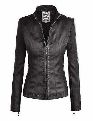 new black womens small s faux leather