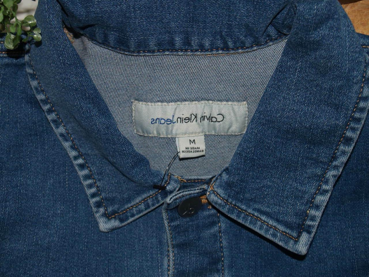 NEW Calvin Klein Women's Trucker Jacket Medium