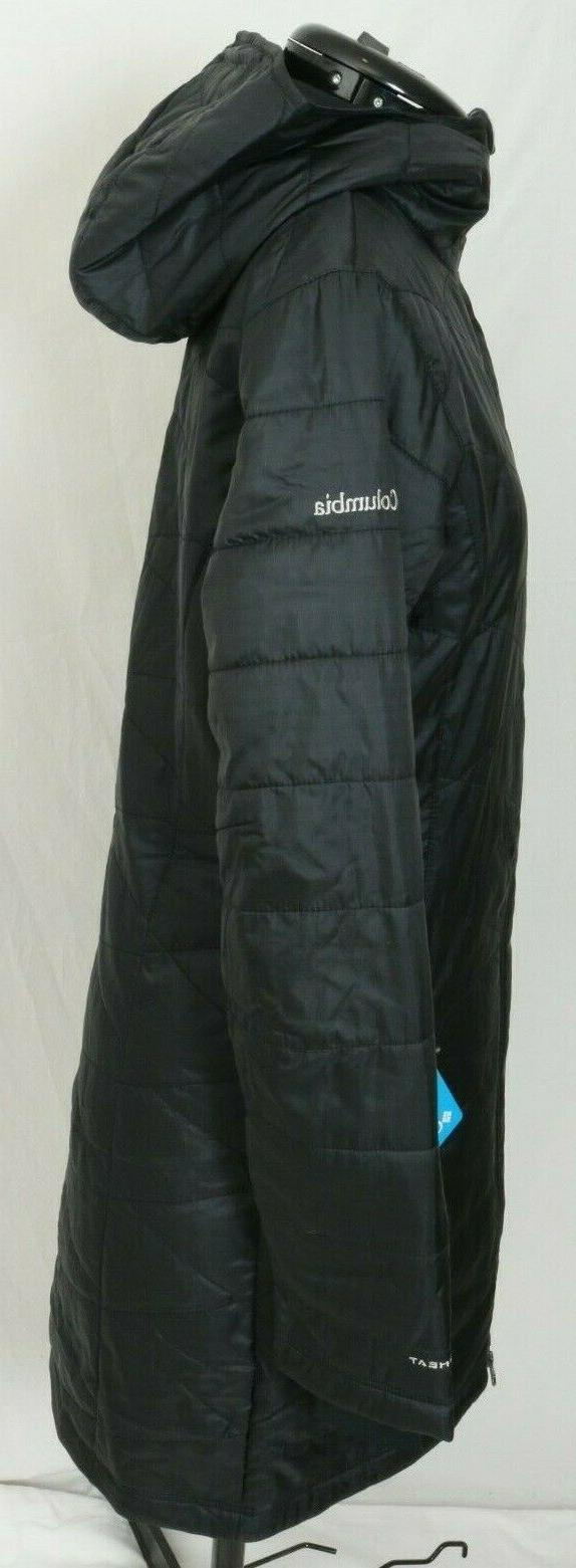 New Columbia Mighty Hooded Quilted Jacket Women's XS