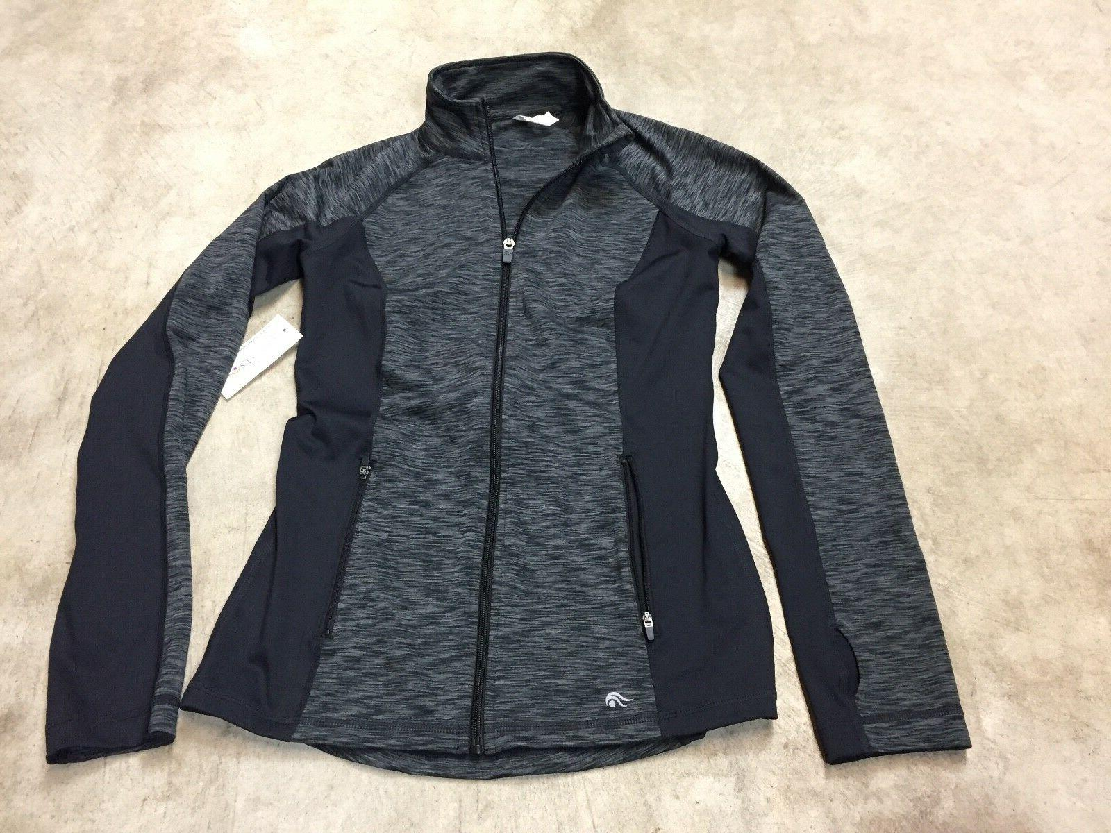 NEW NWT womens ideology core jacket full zip up athletic top