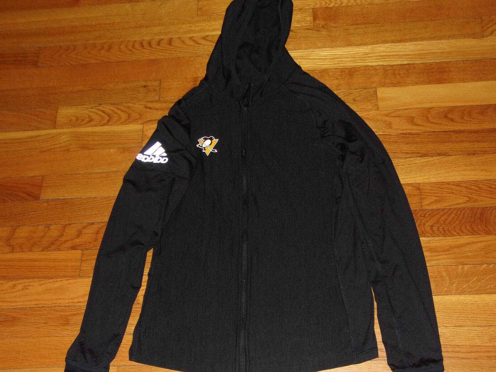 new pittsburgh penguins full zip hooded athletic