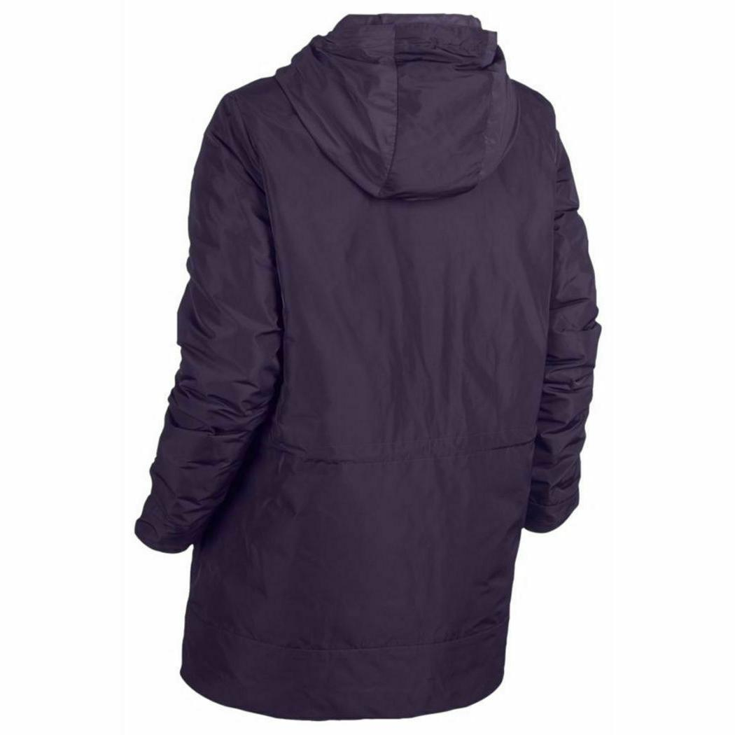 NEW NIKE WOMEN'S DOWN HOODED PARKA SIZE SMALL