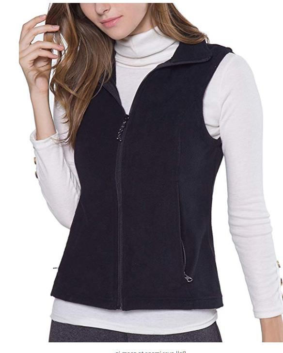 NEW Oalka Womens Full-Zip Polar Sport Fall Winter Spring Fle