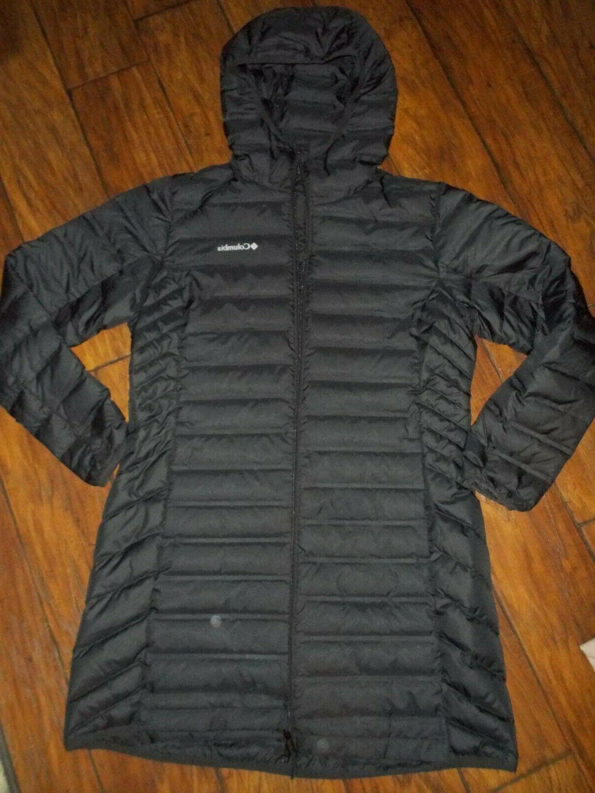 new womens lake 22 long hooded heat