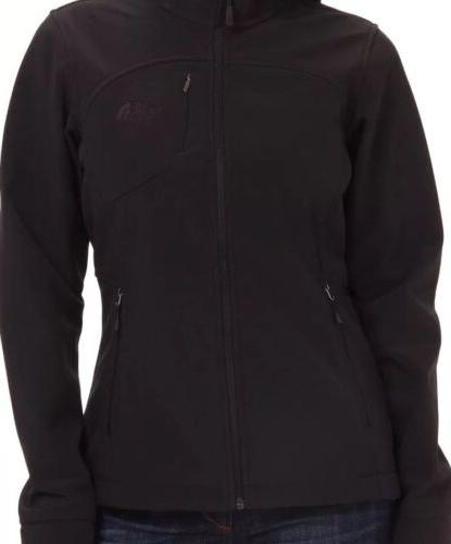 North Womens Soft Black Size BNWT