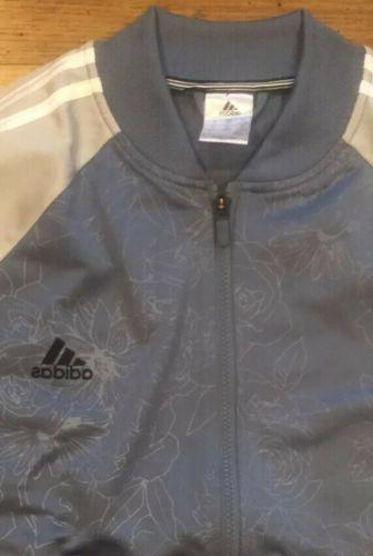 NWOT ADIDAS Raw Zip Jacket Grey XL