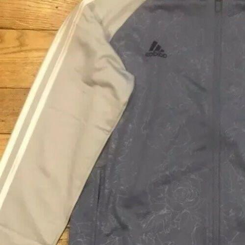 NWOT Raw Embossed Track Zip Grey Size: