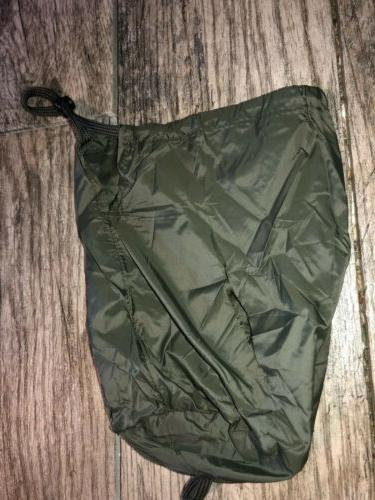 Green Puffer Jacket Large