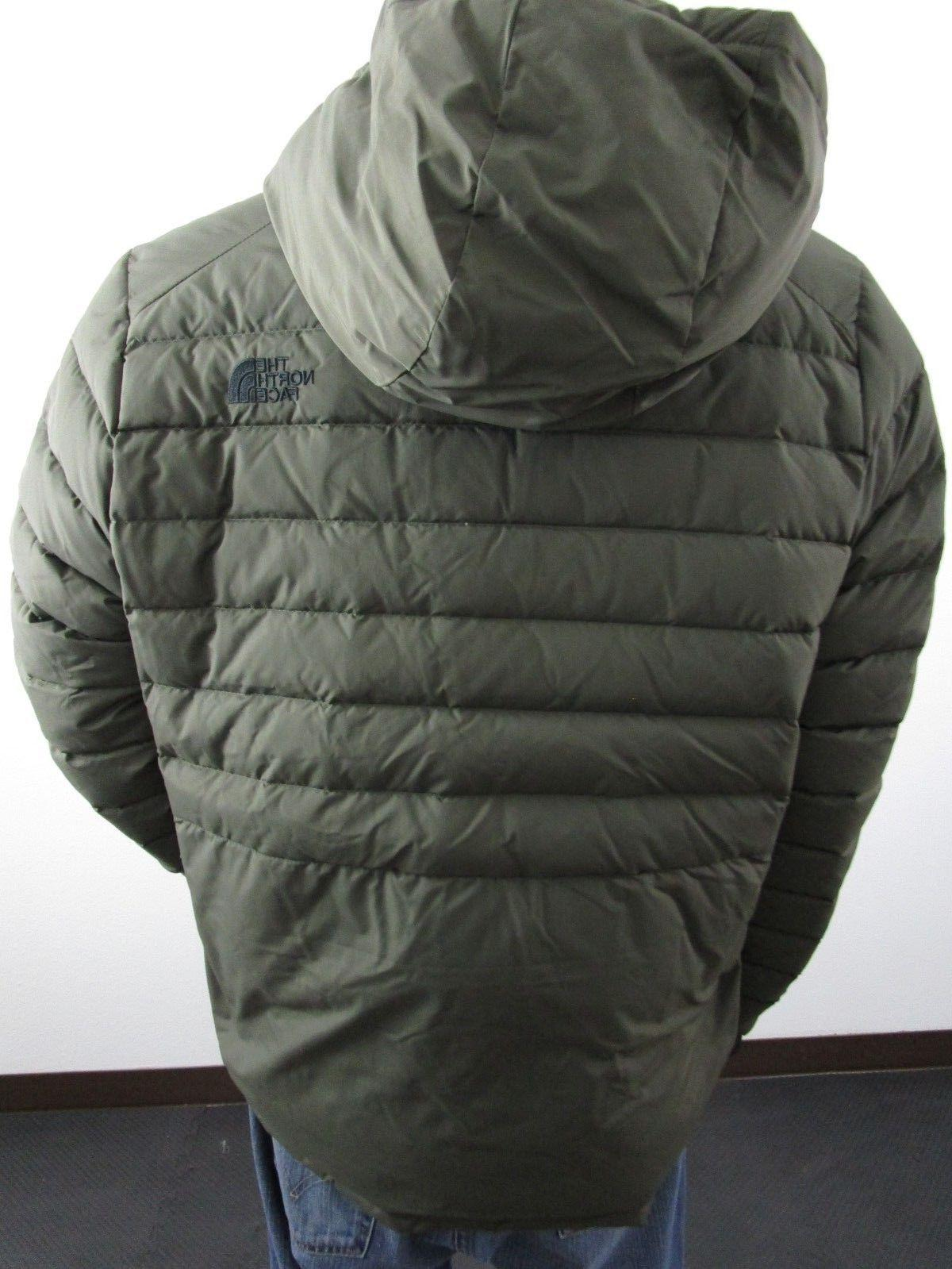NWT TNF The North 550-Down Insulated Puffer Green