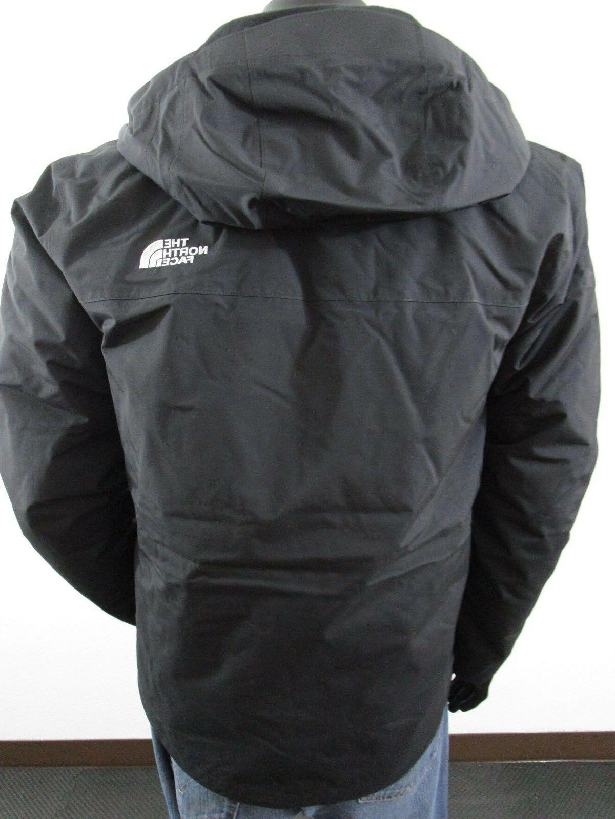 NWT TNF The North Face Carto Triclimate Hooded - Black