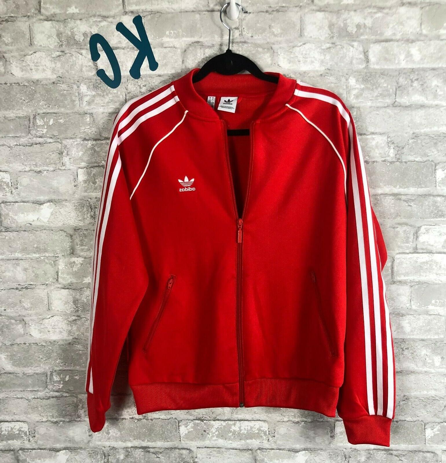 NWT NEW WITH TAGS adidas V-Day SST Jacket Women's MEDIUM