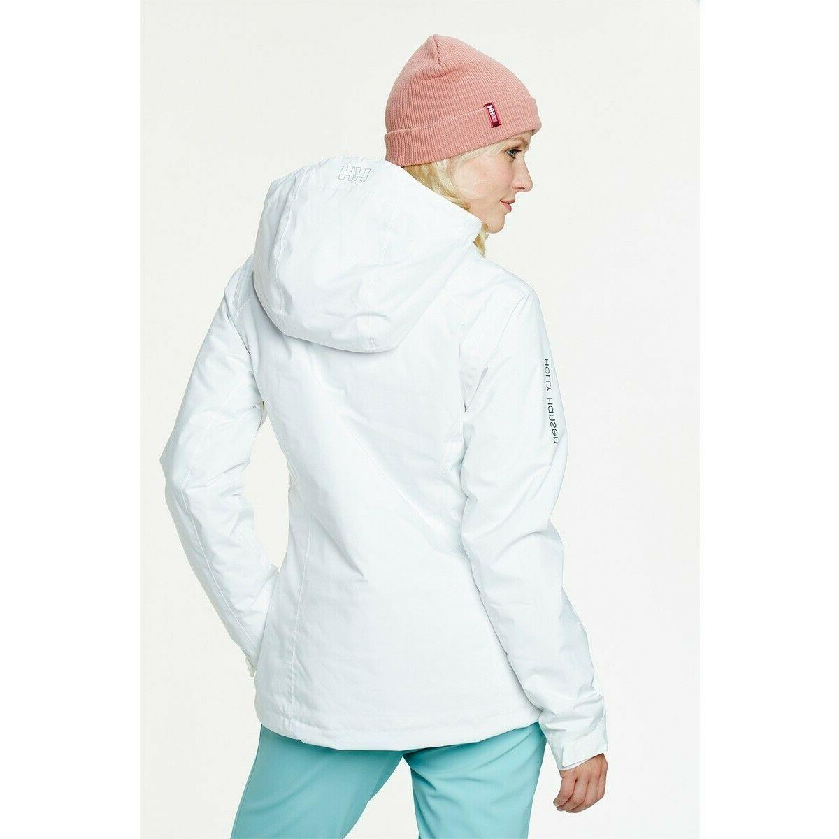NWT Helly Hansen Sundance Ski Winter Jacket White X-Large